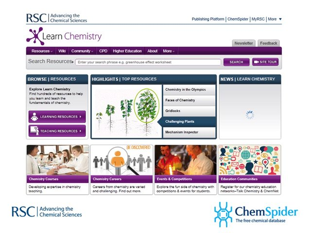 Serving up and consuming community content for chemists using wikis