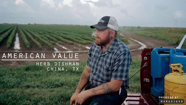 American Value: Herb Dishman: China, TX