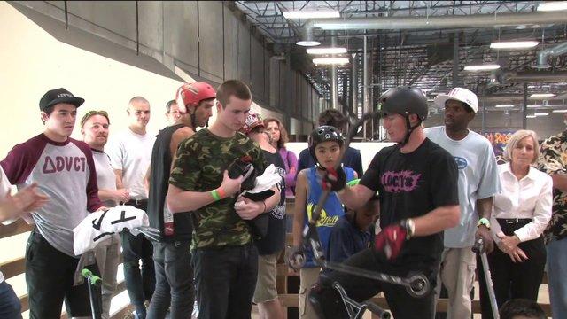 The 2013 Epic Indoor Skatepark Spring Scooter Jam