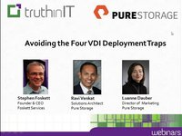 Pure Storage - 4 Major Pitfalls of VDI