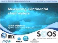 SØsterhus-Measuring continental shelf waters
