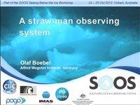 OBoebel-A straw-man observing system