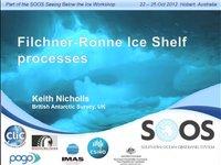 KNicholls-Filchner-Ronne Ice Shelf processes
