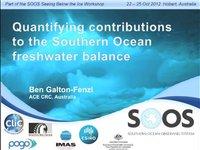 BGalton-Fenzi-Quantifying contributions to the Southern Ocean freshwater balance