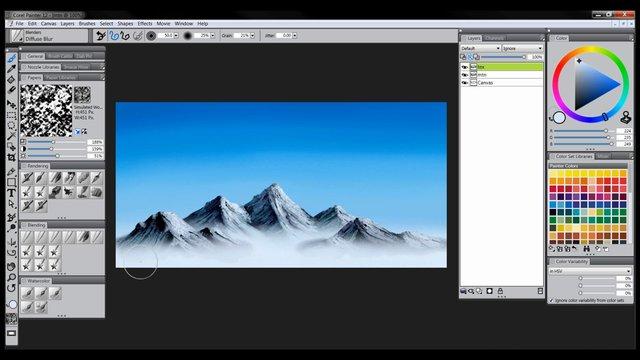 Corel Photo Paint Gears Image List