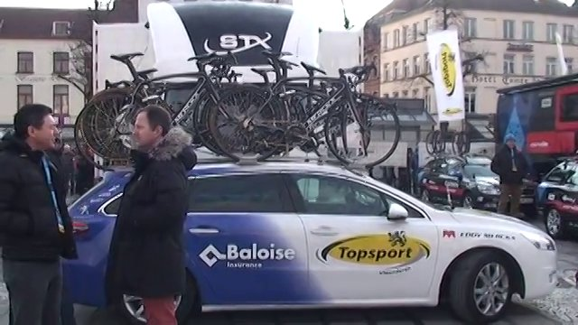 Interviews bij de start van de Ronde van Vlaanderen 2013