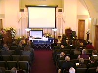 "The Funeral Service for Don ""Hoots"" Gibson"