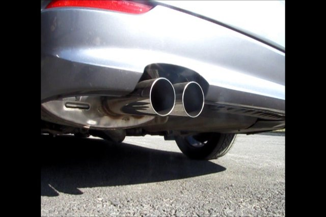 BMW 535xi with a Dinan Muffler