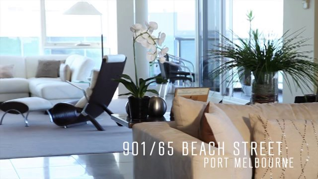 Property Video - 901/65 Beach Street, Port Melbourne
