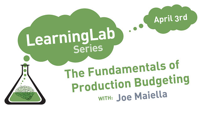 The Fundamentals of Production Budgeting & Payroll Management on 4.3.13