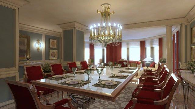Beautiful luxury life style interior design visualization | Moko3D ...
