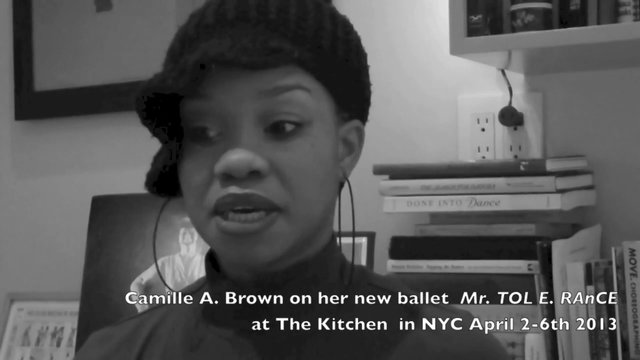 Camille Brown ( Dance Up Close Preview)