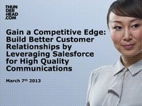 Teliqo Webcast  – Gain a Competitive Edge and Build Better Customer Relationships