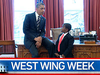 "West Wing Week: 04/05/13 or ""The Scientist-in-Chief"""