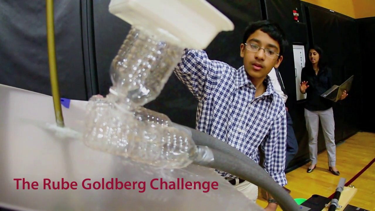Rube Goldberg Challenge at SLS