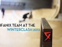 FENFANIX TEAM REPRESENTING AT THE WINTERCLASH 2013 IN EINDHOVEN, AREA 51 SKATEPARK,NETHERLANDS    STARRING:    -ANTONY POTTIER  -DIEGO GUILLOUD  -STEPHANIE RICHER  -ROMAIN GODENAIRE  -JEREMY KESLER  -DIEGO LUPPI  -WARREN DIGNE  -ROB PRUETT    DIRECTED BY GIANLUCA ASUNIS    CHECK THE WEBSITE:  WWW.FENFANIX.COM