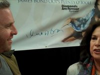 David meets a Bond Girl:  Lana Wood