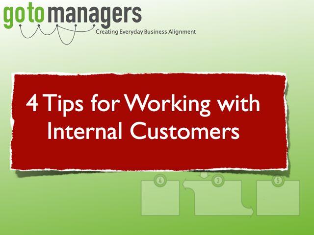 What is internal customer