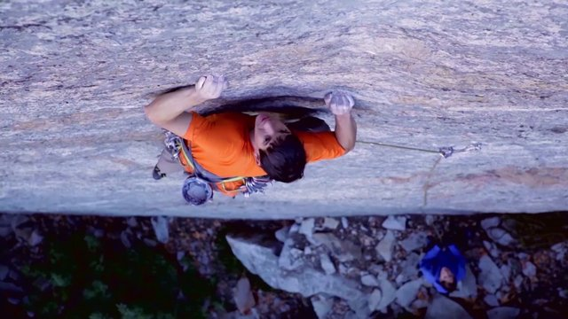 Video #2: BD athlete Alex Honnold making the first ascent of A Gift From Wyoming (5.13) on Yosemite's Leaning Tower