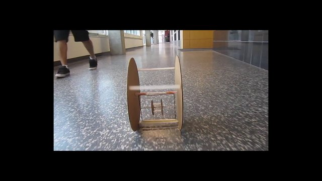 Rubber Band Powered Vehicle