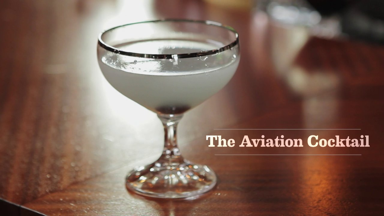 Aviation Cocktail on Vimeo