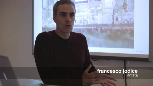 Francesco Jodice  about teaching