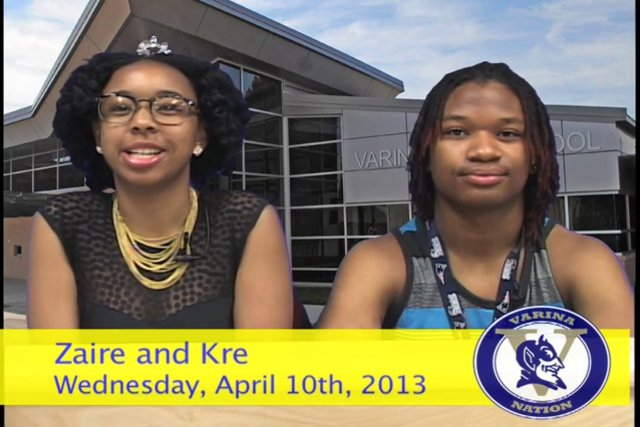 Wednesday, April 10th, 2013