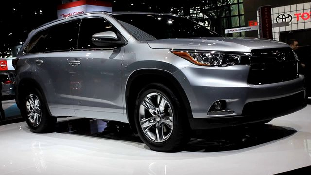 Toyota highlander 2014 colors images pictures becuo