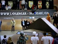 Rider : Romain Godenaire Event : Gladiator Contest VIII Location : Le Hangar Skatepark - Nantes - France