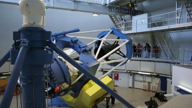 TIMELAPSE: CALAR ALTO 2,2m Telescope