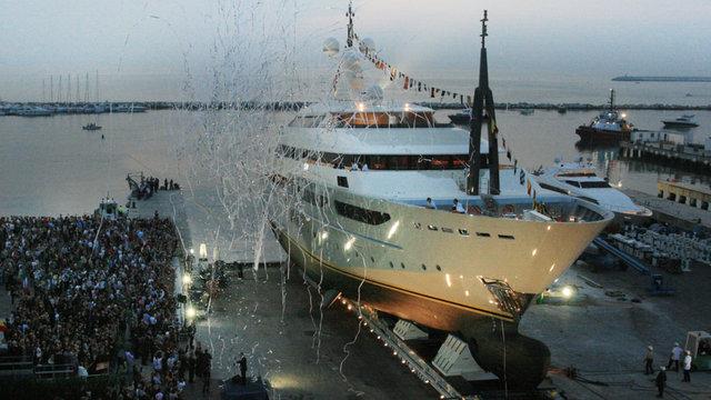 Varo dello yacht CRN Clarenà