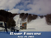 Camp Fortune : April 14, 2013