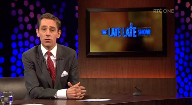 The Late Late Show Jan 2013