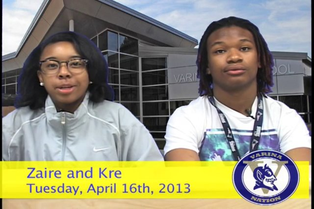 Tuesday, April 16th, 2013