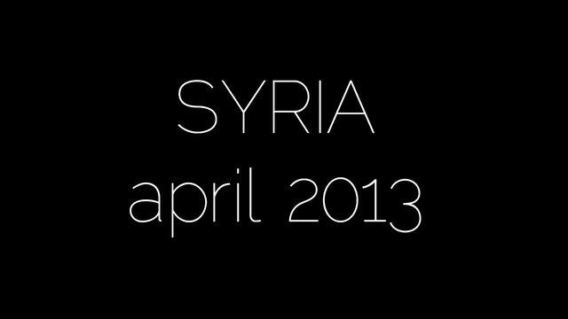 syria, april 2013