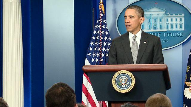 President Obama Speaks on Attacks in Boston