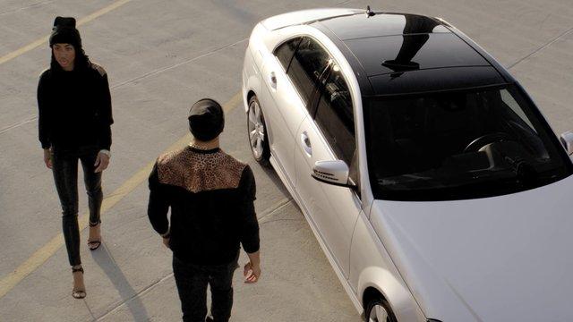 il. - cheetah hustle crewneck