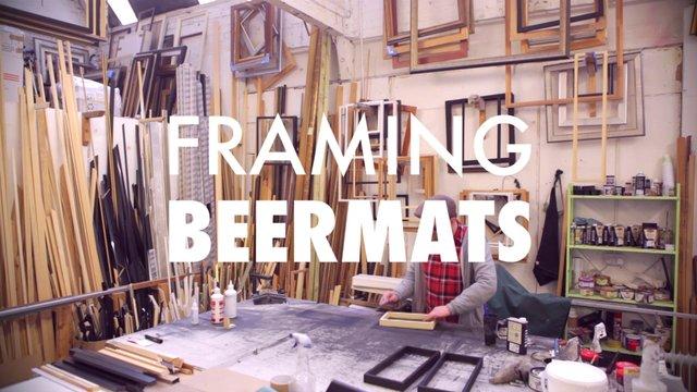 Inkygoodness: Framing Beermats