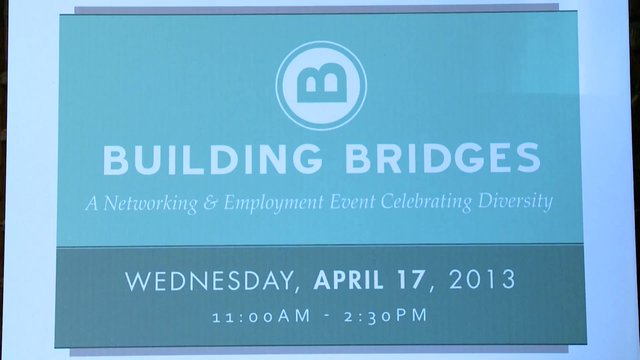 Building Bridges Association of Canada, A Networking & Employment Event Celebrating Diversity, Toronto, April 17, 2013