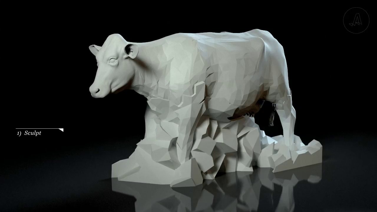 【製作玻璃牛 Making Glass Cows】【Yao】