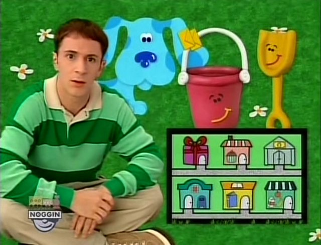 Blues clues the trying game credits