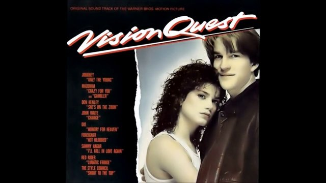 "Madonna - ""Crazy For You"" (Vision Quest: Motion Picture soundtrack 1985)"