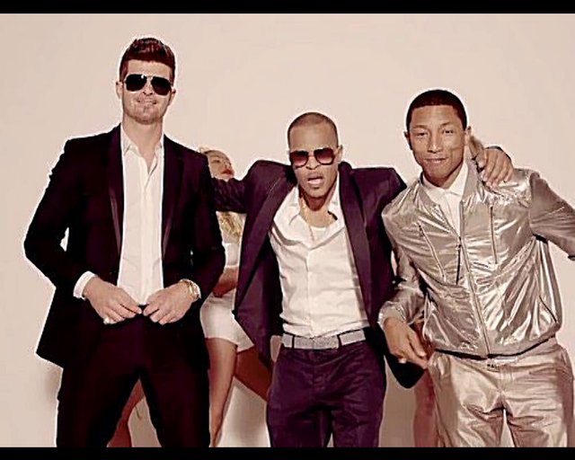 Robin Thicke Feat T.I. & Pharrell - Blurred Lines (Good Girl Remix)