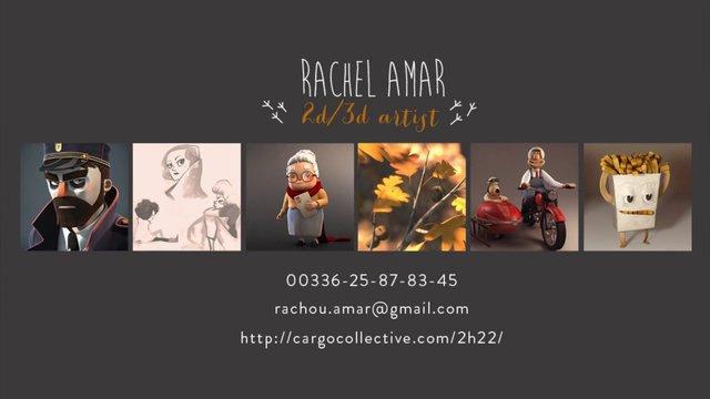 Rachel Amar - Demo Reel 2013