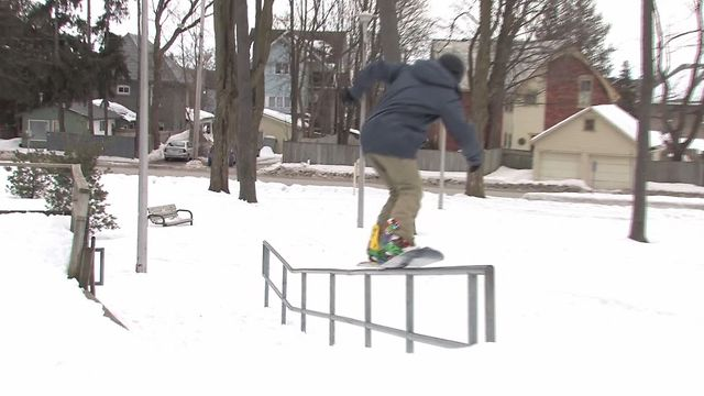 Jordan Vandenberg Shred 12/13
