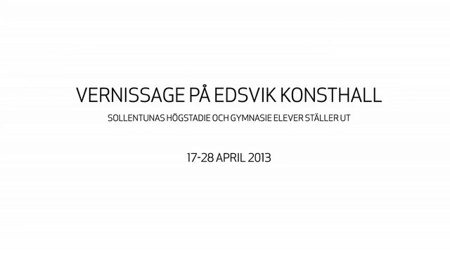Edsvik vernissage 2013