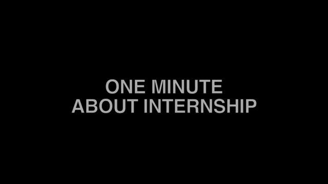 Internship 01