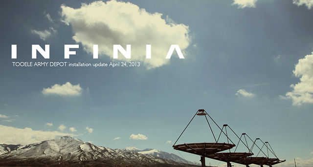 Infinia Corporation: Tooele Army Depot Installation Update April 23, 2013