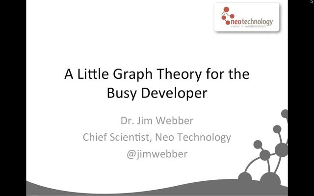 0422 - A little graph theory for the busy developer