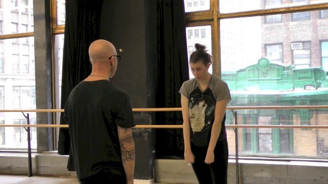 "Dance Up Close: The Power of Movement- Stephen Petronio Company Rehearsing  ""Like Lazarus Did"""